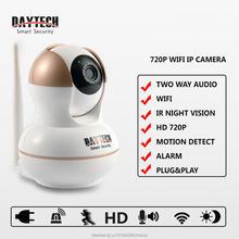 Daytech Беспроводная Ip-камера Wi-Fi Монитор Видео Главная Видеонаблюдения Камера Ночного Видения ИК Инфракрасный CMOS Двухстороннее Аудио 103A
