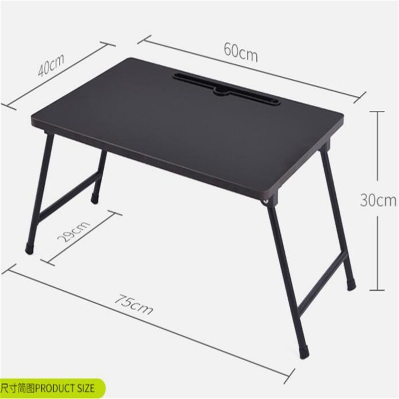 купить 60*40CM Folding Laptop Table Lazy Notebook Table Portable Bedside Table Modern Learning Desk по цене 4995.78 рублей