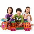 Mini 116 unids modelos bloques de construcción magnética juguetes de diseñador para niños aprendizaje juguetes educativos enlighten bricks regalo magnética