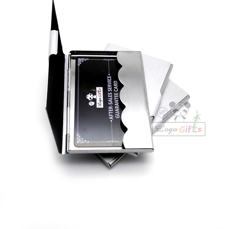 Fashion metal card stock business card holder high range promotional ...