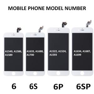 Image 5 - AAA qualité LCD pour iPhone 6 6S Plus écran LCD assemblage complet pour 6P 6SP affichage écran tactile remplacement affichage pas de Pixels morts