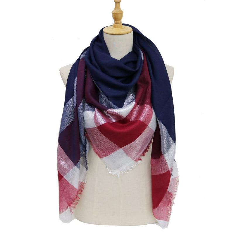 2de72f9d3 new winter women fashion Fiber glue square scarf hijab scarfs big stoles  scarves femme for ladies