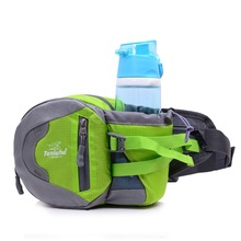 Bumbag Hip Bag Thin Waist Pack Fanny Riding Kettle Pocket Hike Breathable Waterproof Nylon for Summer Travel