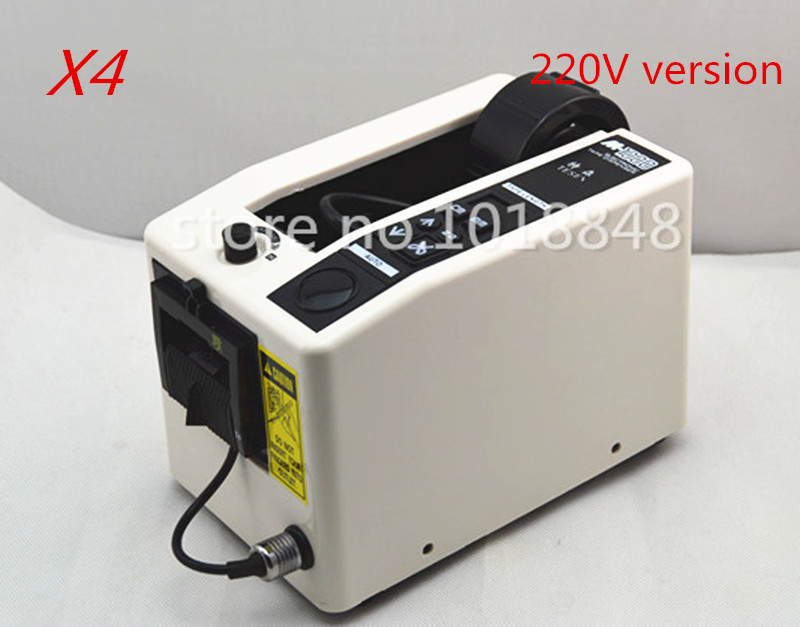 220V Automatic Electronic Packing Cutter Tape Dispenser M-1000 Tape Adhesive Cutting Machine imported motor /CE 4pcs/Lot kitfort кт 802 4