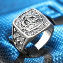 Crown Signet Ring