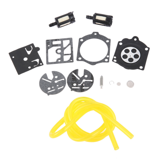 US $3 99 5% OFF|DRELD Chainsaw Carburetor Repair Rebuild Diaphragm Kit for  Homelite XL 2 &Super 2 for Walbro HDC Carb Brush Cutter Grass Trimmer-in