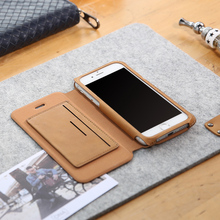 D-park Flip Leather Mobile Phone Case Cover For iPhone 6/6s Plus 5.5 inch Wallet Case for Apple iPhone 6/6s 4.7 With Card Slot