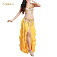 New High Sexy Belly Dance Costume 5 Piecesset Bollywood Dance Costumes Belly Dance 3 Piecesset Bra