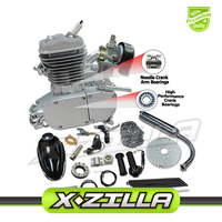 80cc 2 ход моторизованный велосипед двигатель Наборы обновлен 80cc 2 ход велосипед комплект газовый двигатель с Скорость дропшиппинг