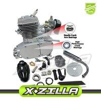 80cc 2 Stroke Motorized Bicycle Bike Motor Engine Kits Upgraded 80cc 2 Stroke Bicycle Gas Engine Kit with Speed dropshipping
