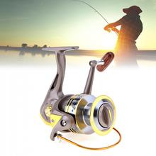 6000-7000 Series 8 Ball Bearings 5.2:1 Spinning Fishing Reels with Foldable Handle and Metal Line Cup bk2538 drawn cup caged needle roller bearings with closed end 85941 25 the size of 25 32 38mm
