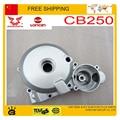 CG200 ZONGSHEN CB250 MOTOR cubierta lateral izquierda magneto bobina del estator de la cubierta accesorios del motor 200cc 250cc LONCIN parte envío gratis