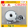 ZONGSHEN CG200 CB250 ENGINE left side cover magneto coil stator cover LONCIN 200cc 250cc engine accessories part free shipping