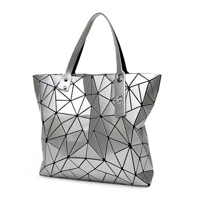 77b6743f76f4 Сумочка женская сумка женская в сложенном виде геометрический плед Сумка  торба модные Повседневное Tote Для женщин