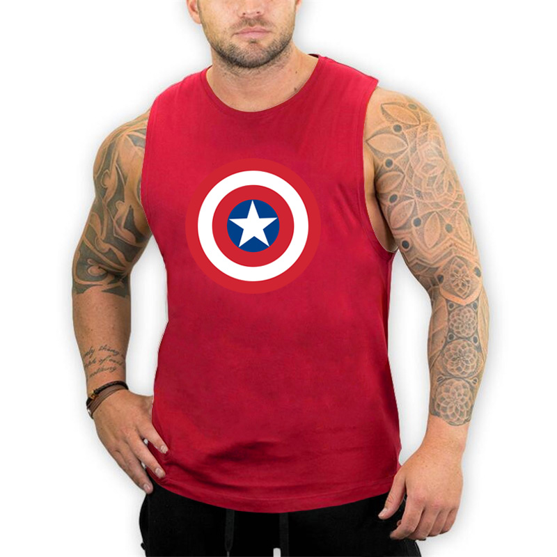 Brand mens sleeveless shirts Summer Cotton Male   Tank     Tops   gyms Clothing Bodybuilding Undershirt Fitness tanktops tees