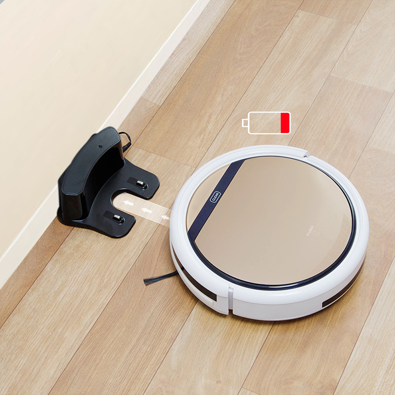 ILIFE V5s Pro robot Vacuum Cleaner Robot Sweep Wet Mop Automatic Recharge for Pet hair Powerful Suction Ultra Thin odkurzacz - 5