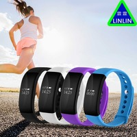 LINLIN Health movement Step by step Blood oxygen blood pressure Heart rate waterproofing remind Intelligent hand ring