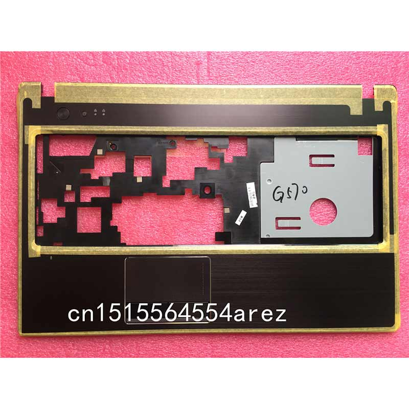 New Original laptop Lenovo G570 G575 Touchpad Clickpad Palmrest case The keyboard cover 31048963