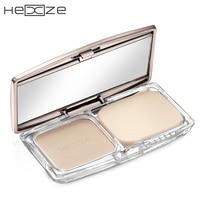 HEXZE Brand Makeup Face Shimmer Matte Pressed Powder Whitening Brighten Concealer Oil Control Long Lasting Natural