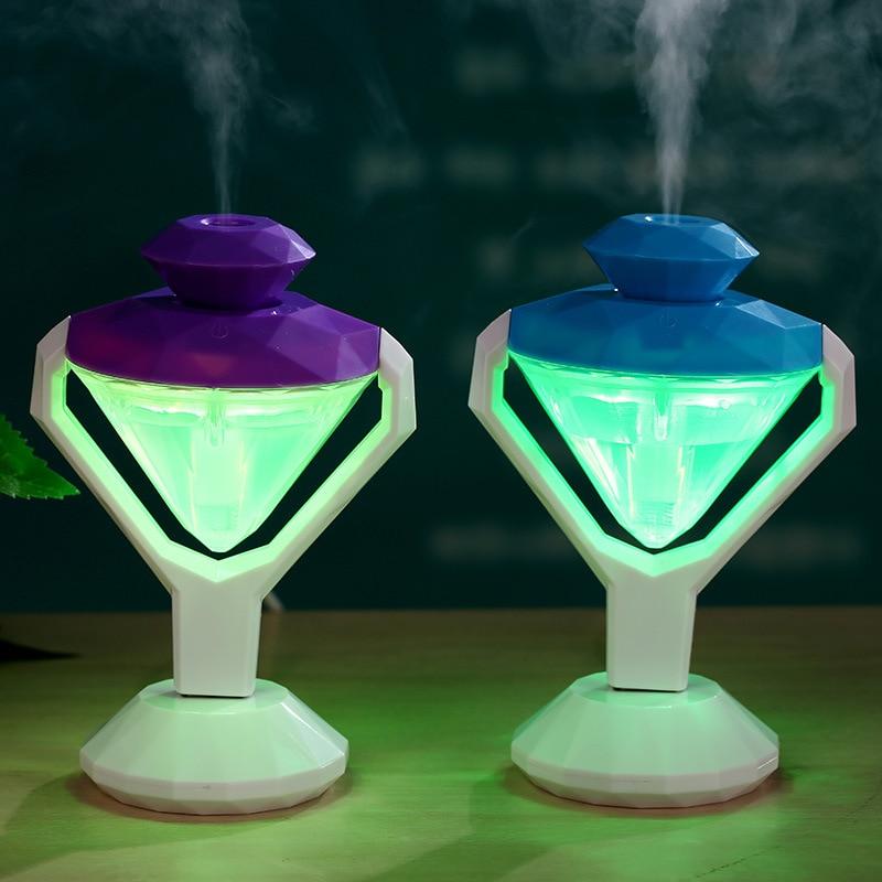 Portable d'utilisation Deux-en-un USB mini parfum de voiture diamant - Appareils ménagers - Photo 4