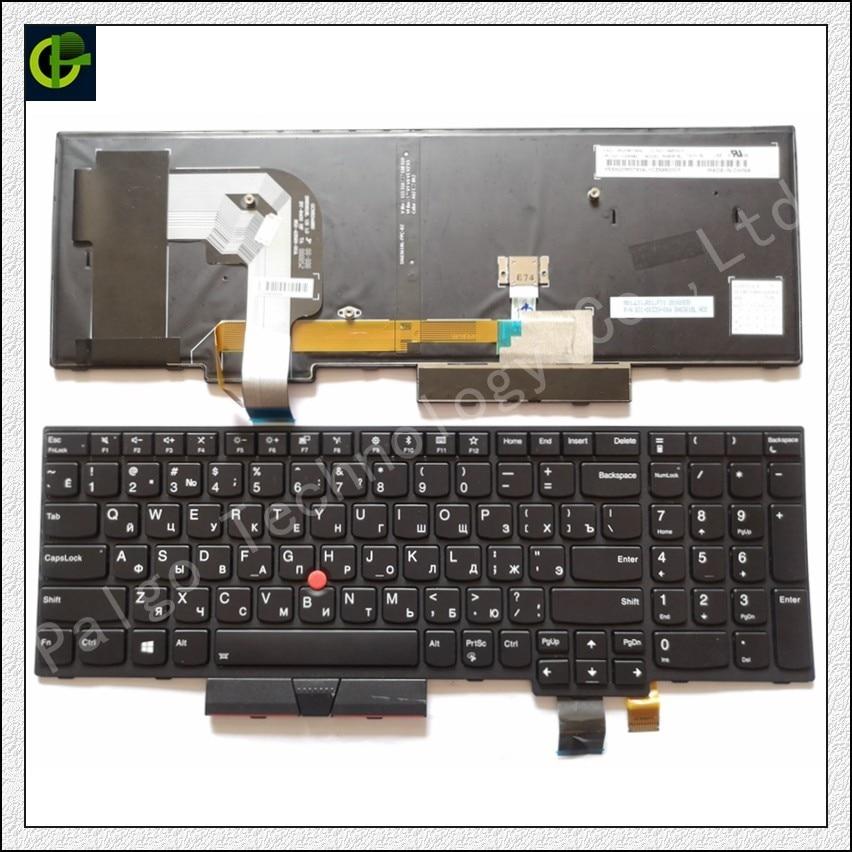 Russian Backlit keyboard For Lenovo Thinkpad T570 T580 P51S P52S 20L9 20LA RU 01EN928 01EN958 01ER500