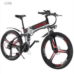Электрический горный велосипед 48V500W вспомогательный горный велосипед литиевая батарея 48V10. 4AH электрический велосипед|Rowery elektryczne|Sport i rozrywka -