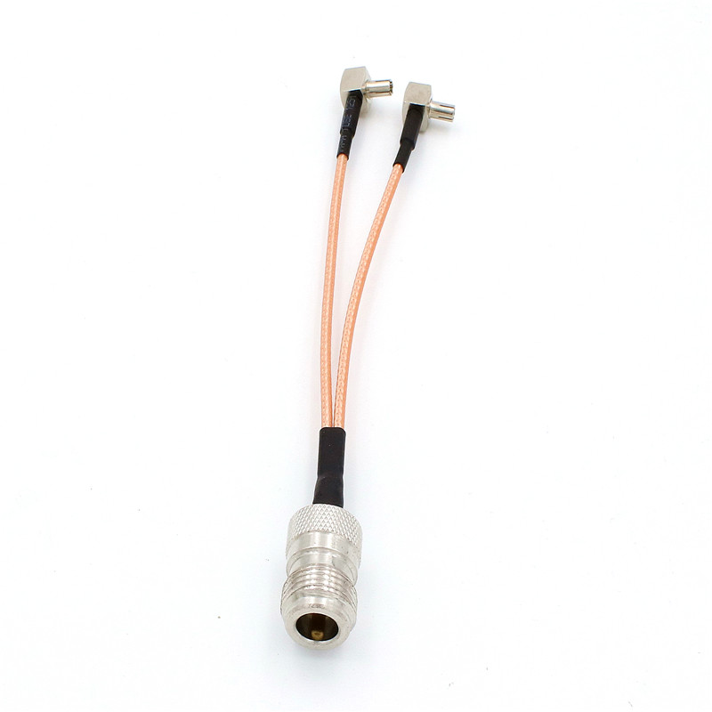 3G 4G Antenna N Female To  TS9 Connector Splitter Combiner RF Coaxial Pigtail Cable  For 3G 4G Modem Router