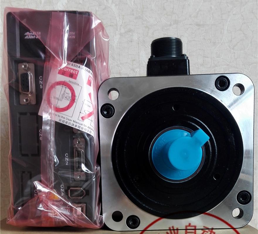 ECMA-E11315RS ASD-A2-1521-L 220V 1.5kW 2000RPM ASDA-A2 AC Servo Motor kit de Cable de 3M