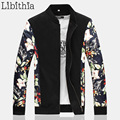 Men Jacket And Coats Floral Winter Casual Slim Fit Spring Autumn 3 Style Plus Size 5XL 6XL 7XL 8XL Jaqueta Masculina Hombre J103