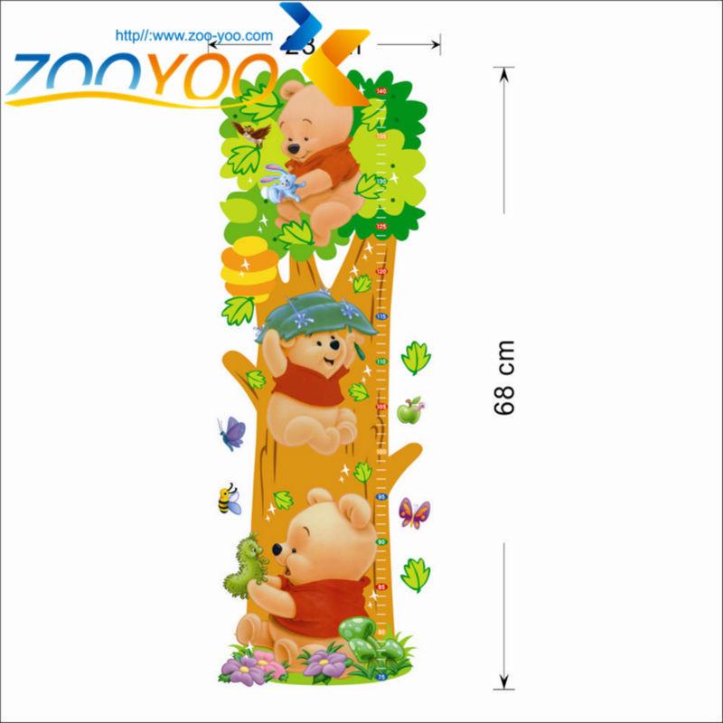 HTB16SCdJFXXXXccXVXXq6xXFXXXu - Animals zoo cartoon Winnie Pooh wall sticker for kids room