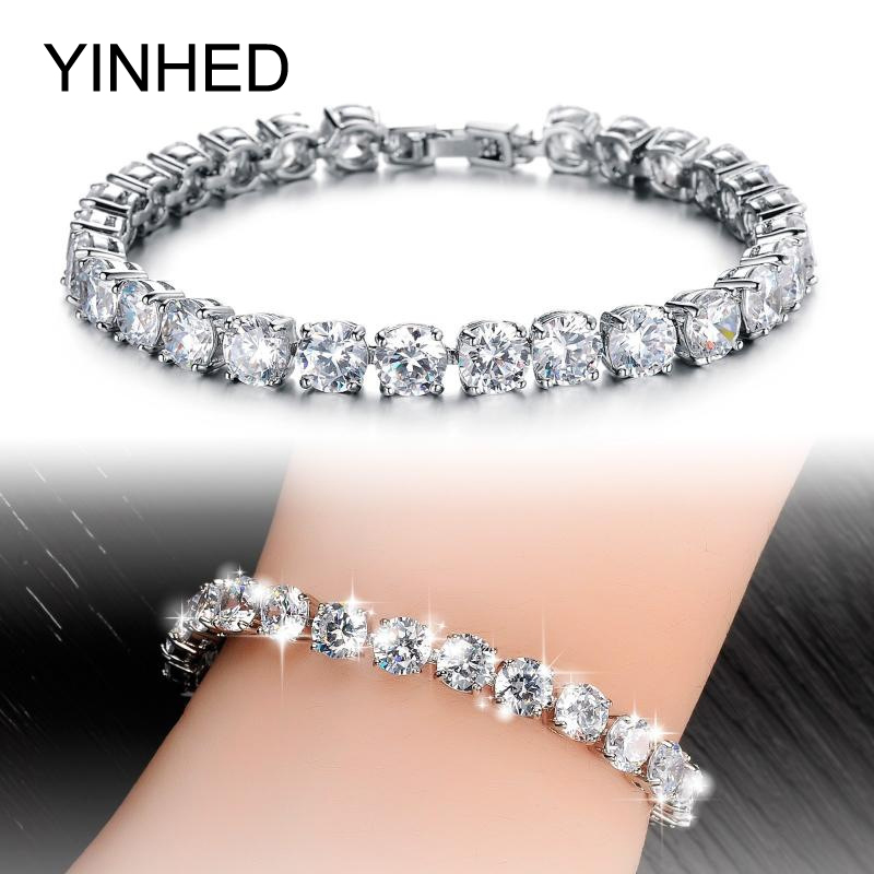 aliexpress buy luxury white gold plated aaa swiss aliexpress buy yinhed luxury high quality aaa cubic