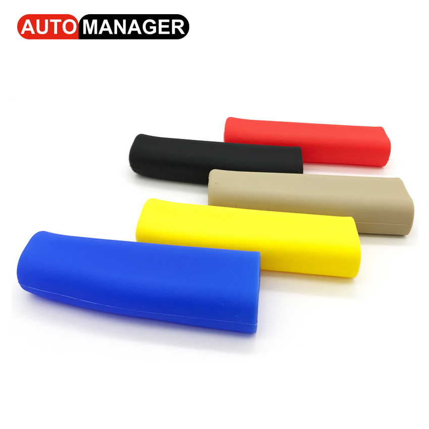 Car Handbrake Covers Auto Anti-silp Silicone Gel Hand Brake Grips Car-styling Decoration Accessories