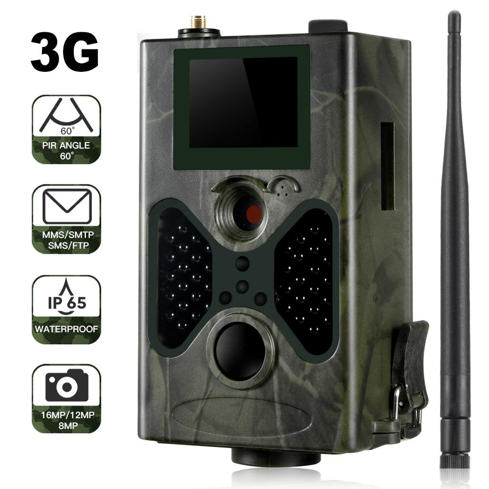 SUNTEKCAM HC 330G 16MP 940nm Night Vision Hunting Camera MMS Trail Camera SMS GSM GPRS 3G Camera Trap Photo Trap Wild Cameras-in Hunting Cameras from Sports & Entertainment