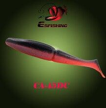 Esfishing Easy Shiner Shad 5″ 4pcs 18g Fishing Soft Lure Silicone Bait Winter Fishing Tackle Bass Fake fish Plastic Sea River