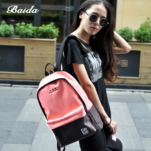 Moda Zaino di svago delle donne Back Pack signore coreane zaino borse casual di viaggio per la scuola ragazze adolescenti Classic Bagpack