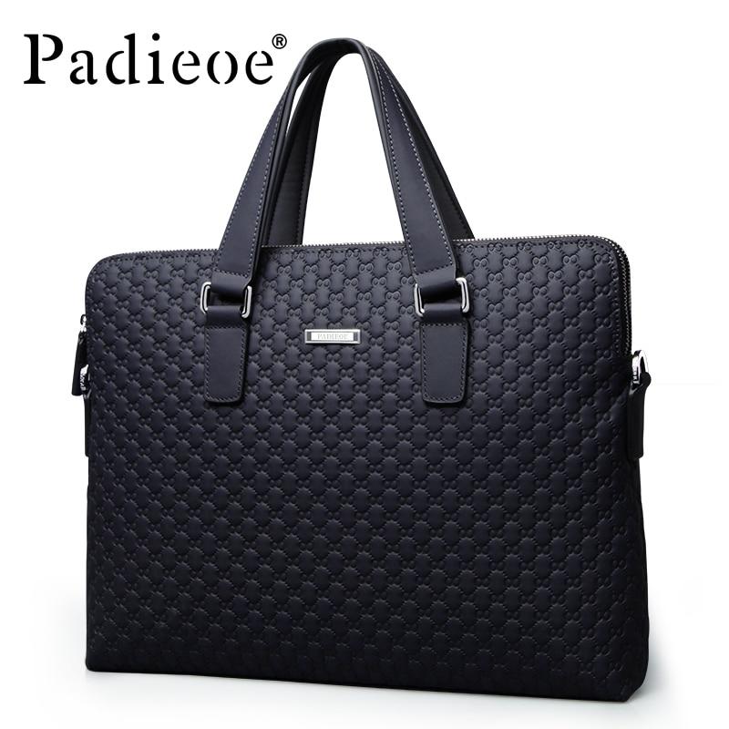 MEN leather messenger font b bags b font font b Men s b font briefcases font