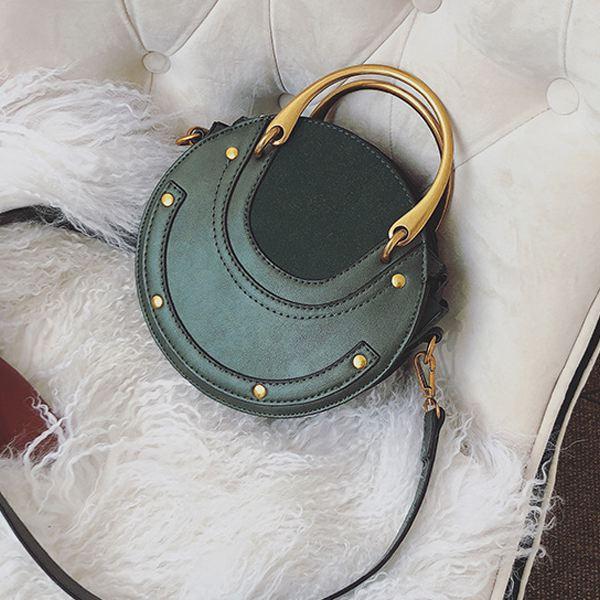 Ljl circular esfrega couro do plutônio sacos