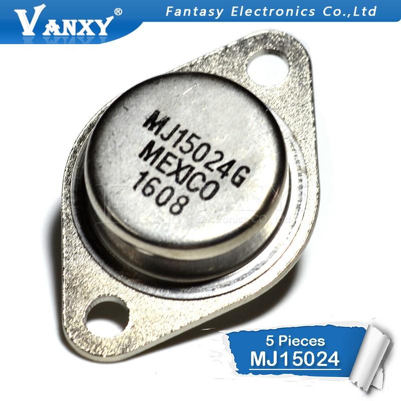 5 PCS MJ15024 TO-3 MJ15024G5 PCS MJ15024 TO-3 MJ15024G