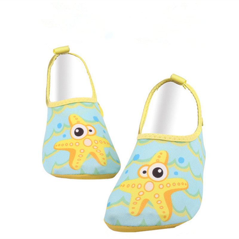 Soft Sole Childrens Cartoon Lightweight Underwater Driving Beach Shoes Kid Outdoor Swim Pool Fast Dry Skid Resistance Shoe