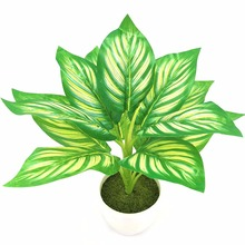 Artificial Green Plants With Vases