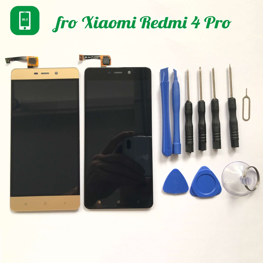 for Xiaomi Redmi 4 Pro Prime LCD Display+Touch Screen with Tools Glass Panel Digitizer For Xiaomi Redmi 4 Pro Prime 5.0 inch  for xiaomi redmi 4 pro lcd display touch screen digitizer lcd screen panel replacement for redmi 4 prime 5 0 inch mobile phone