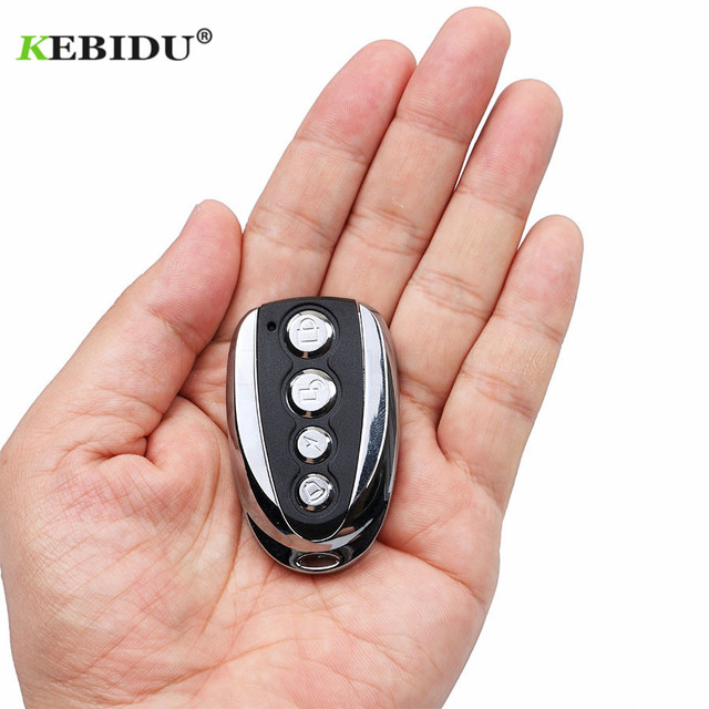 10pcs Universal ABCD Key Control 433.92MHZ Remote Cloning 4 Channel Auto Car Garage Door Duplicator Rolling Code For Car Newest