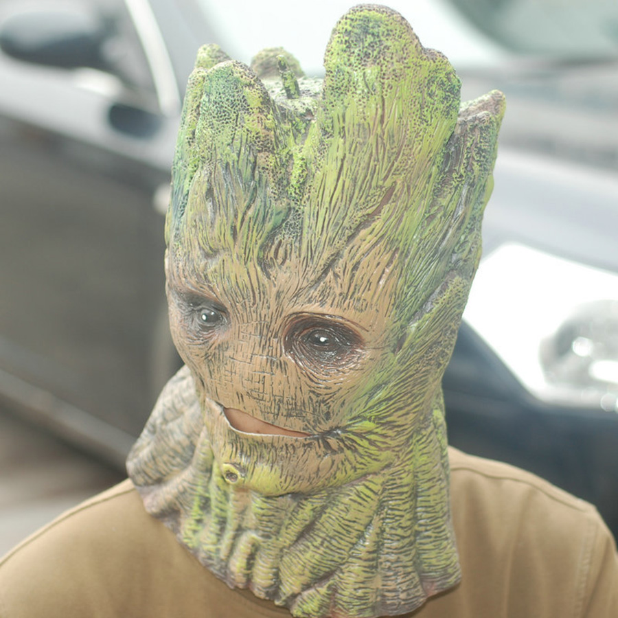 Aliexpress.com : Buy Popular Halloween Cosplay Mask Groot Guardian ...