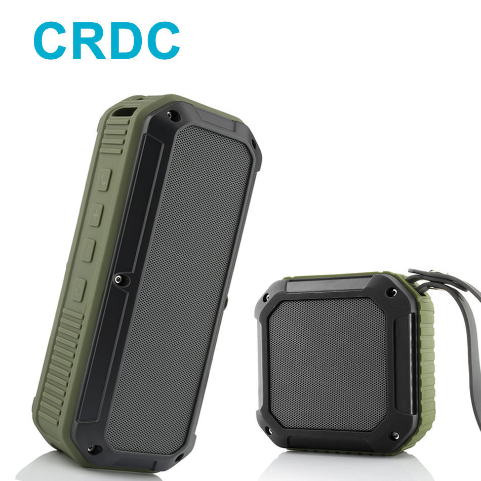 CRDC Bluetooth Speaker 10 Hour Playtime Mini Outdoor Water Resistant Wireless Stereo Speaker CSR Chip Bass