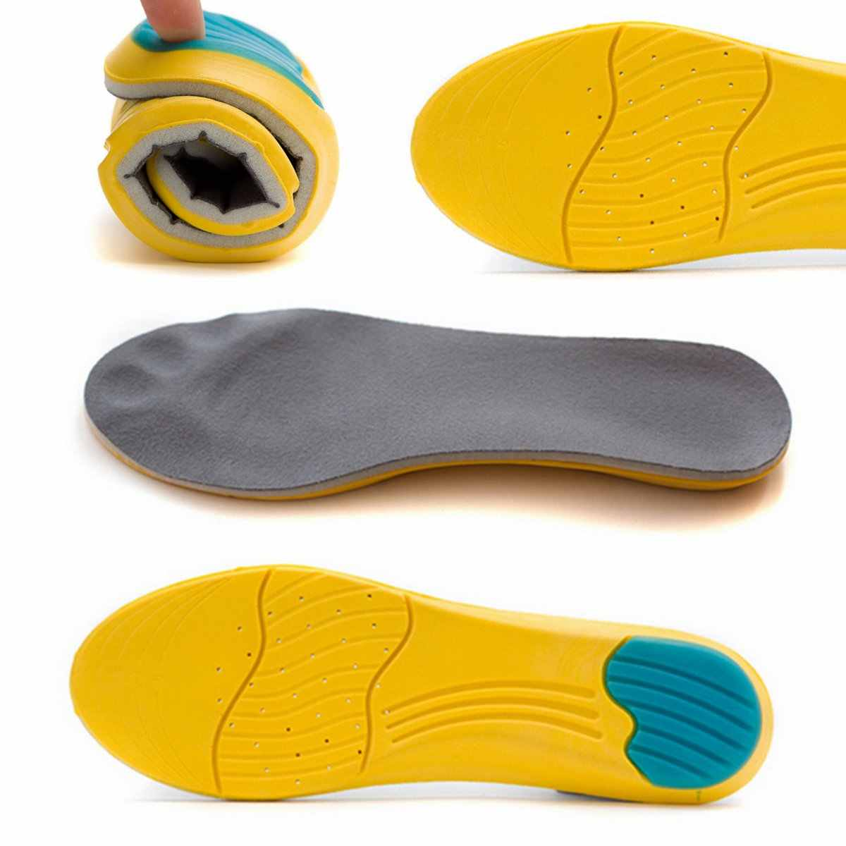 22a3ce68905 Detail Feedback Questions about 1Pair Memory Foam Insoles ...