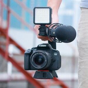 Image 2 - Ulanzi U Grip Pro Triple Schuh Montieren Video Stabilisator Griff Video Griff Kamera Telefon Video Rig Kit für Nikon canon iPhone X 8 7