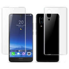 Ultra-thin Front Back Transparent Full Cover Soft Hydrogel Film For Sharp Aquos S2 S3 Mini Screen Protector Protective
