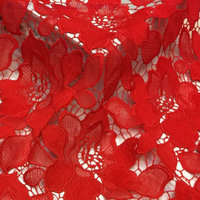 Hot Sale Classic Flower Embroidered Lace Fabric Milk Silk Fabric 130cm 5yards Luxury Dress Fabric Textured