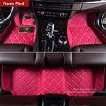 Especialmente hacer coche tapetes para Toyota Crown RAV4 Corolla Prado de la cubierta completa heavy duty car styling alfombras los pies alfombra forros de casos