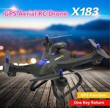 Aerial WIFI RC drone X183 2 4G attitude hold 5G GPS follow me WIFI FPV remote